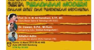 Teknologi Islam dan Peradaban Modern dalam Riset dan Pendidikan Indonesia