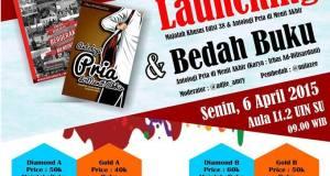 """Launching dan Bedah Buku """"Antologi Pria di Menit Akhir"""""""