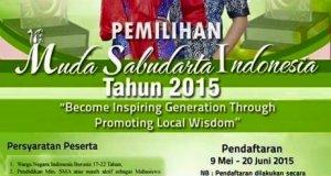 PEMILIHAN MUDA SABUDARTA INDONESIA 2015