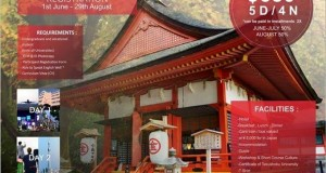 STUDENT WORKSHOP AND SHORT COURSE CULTURE  INDONESIA – JAPAN 2015″
