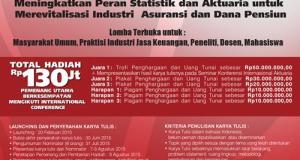 Lomba Karya Tulis Statistika dan Aktuarita