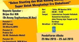 Seminar Kesehatan Nasional 2015