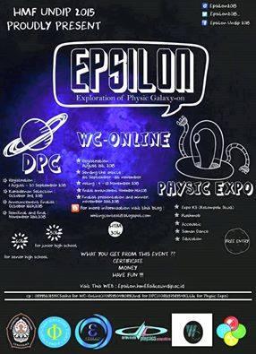 """""""EPSILON 2015"""""""