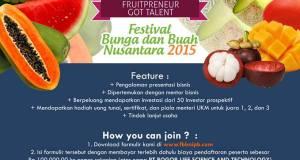 Fruitpreneur Got Talent FBBN IPB 2015