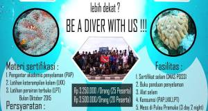 BE A DIVER WITH US !!