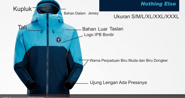 Ready Stock Jaket IPB (This is Just Simple Design Nothing Else)