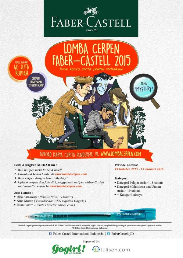 Lomba Cerpen Faber – Castell 2015