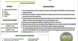 Business Plan Competition KSEI CIES FEB UB
