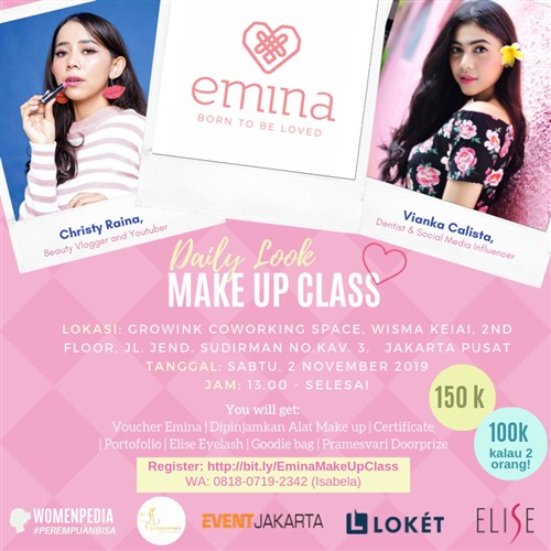 Daily Look Makeup Class